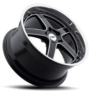 20 TSW Carthage Black Rims Tires 3 Series BMW Camaro