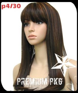 New Nicki Minaj Straight w Chinese Bang Lace Front Wig Look 4 Less