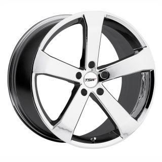 18 TSW Vortex Chrome Rims Wheels evo8 EVO9 EVO 8 9 x 10