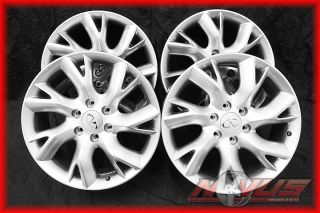 20 Infiniti QX56 Factory Silver Wheels Rims Titan Armada 22 18