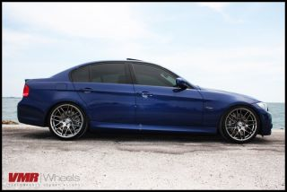 VMR 19 inch VB3 CSL Style Wheels Hyper Black BMW 3 Series E90 E92 E93
