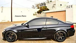 19 Black Varrstoen BMW 335i E90 Staggered Rims Wheels