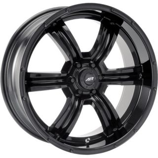 20 inch All Black Wheels Rims Chevy Truck Tahoe Silverado GMC Sierra