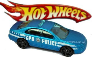 Hot Wheel Type Ford Fusion Patrol Car Series Batman The Dark Knight