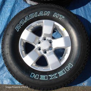 Frontier Xterra Pathfinder 16 Wheels & Nexen Roadian All Season Tires