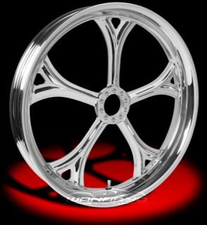 Colorado Custom Wheel Chrome Front Aria 21 x 2 15 Harley Wide Glide