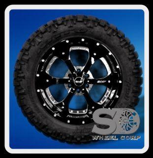 Death Metal Rims 305 55 20 Nitto Trail Grappler Wheels Tires