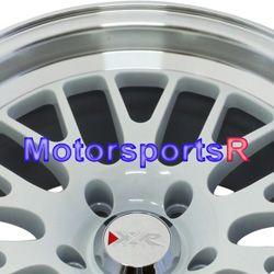 531 White Wheels Rims 5x114 3 Stance 08 09 10 11 12 13 Scion XB