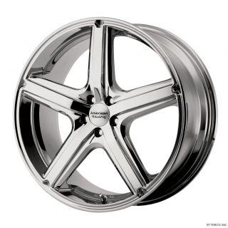 17 Chrome Wheels Rims Eclipse Camry Maxima Lexus 5 114