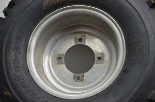 01 Yamaha Raptor 660 Rear Wheels Rims 21 Mud Shark Tires YFM660R