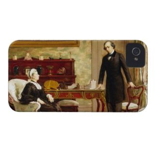 Queen Victoria Interviewing Disraeli at Osborne H iPhone 4 Case Mate