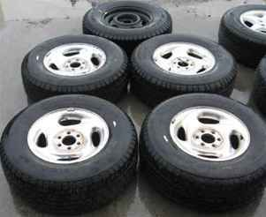 98 99 Durango 15 Alum Wheels Rims Tires Set w Spare