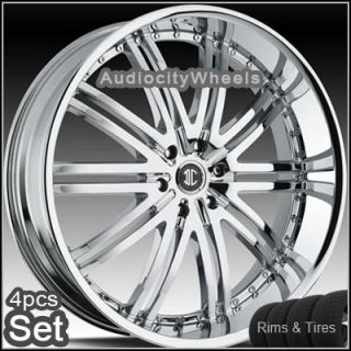 22inch Wheels Tires Chevy Tahoe RAM Escalade Rims