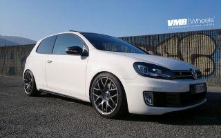 VMR 19 inch V710 Wheels Gunmetal Volkswagen VW GTI Passat Jetta Golf