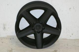 Satin Black SRT8 Style Wheel 20x9 5x5 07 12 Jeep Wrangler JK Grand