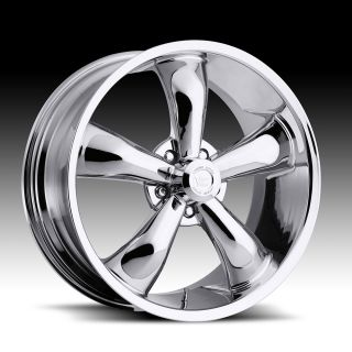 17x7 Vision Chrome 17 Wheels Rims Chevy Camaro Chevelle Nova Impala