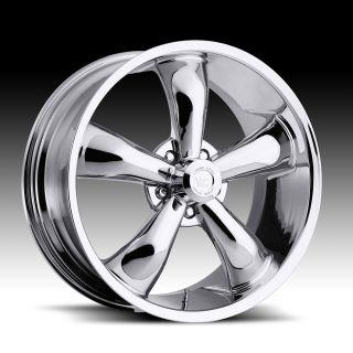 17x7 Vision Chrome 17 Wheels Rims Chevy Camaro Chevelle Nova Impala