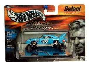 Hot Wheels Racing Select 40 Pete Hamilton Plymouth Superbird