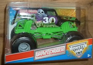 Hot Wheels Monster Jam Diecast XL 1 24 Truck Grave Digger Time Flys