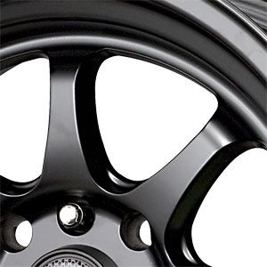 New 15X8.25 4 100/4 114.3 Drag DR 54 Flat Black Wheels/Rims