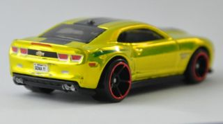 2011 Hot Wheels Chevrolet Chevy Camaro Concept SEMA Batman Batmobile