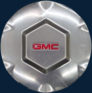07 GMC Envoy Polished Wheel Center Cap For 17 Rim GMC Part # 9593396