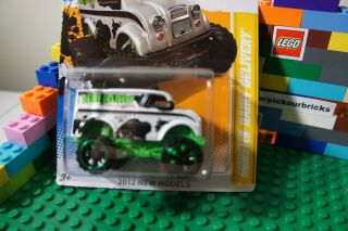 Wheels Monster Dairy Delivery Truck Diecast 2012 New Models Series 28