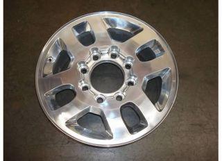 Silverado GMC Sierra 2500 HD Wheel Polished Rim 11 12 3500 5502