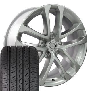 Nissan Altima Set of 4 OEM 62521 Rims and ZR Tires Infiniti I30 I35
