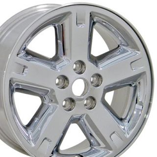 17 Dodge Nitro 5254 Wheels Rims 17x7 Chrome Set