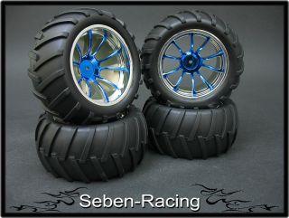 Monster Rims Tires Wheels MRF4 1 10 Offroad Pimp