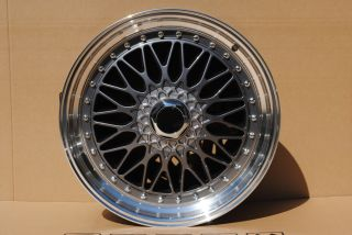 19 Wheels Rims RS Gunmetal Lip Nissan Maxima Altima Ser 370Z 350Z