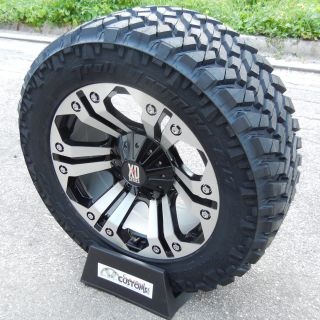 20 Custom Machined XD Monster Wheels 33 Nitto Trail Grappler