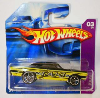 HOT WHEELS 2007 #51 TAXI RODS 70 PLYMOUTH ROAD RUNNER OH5SPS WHEEL