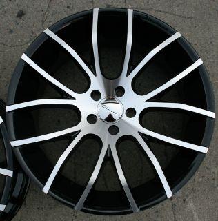 Giovanna Kilis 20 Black Rims Wheels Jaguar XF 09 Up 20 x 8 5 10 5H 35