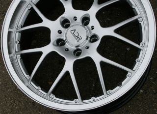 Adr M Sport 19 H Silver Rims Wheels Chevrolet Camaro LS Lt RS 09 Up