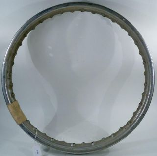 WM2X19 inch 40 Spoke Triumph Speedway Motorcycle Wheel Rim