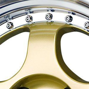 New 15X7 4 100 DRAG Gold Machined Lip Wheels/Rims
