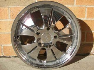 Slice 669 Series Chrome Plated Alloy Wheels 16x7 5x115 GM