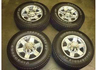 RAM 2500 3500 LARAMIE HD Wheels Rims TIRES OEM ALLOY Factory POLISHED