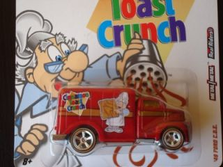 Hot Wheels 2011 General Mills Cereal Cinnamon Toast Crunch 49 Ford COE
