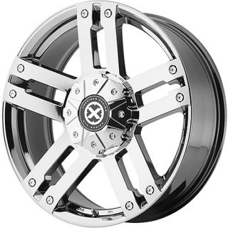 20x9 Chrome American Racing ATX AX190 Wheels Blank 18