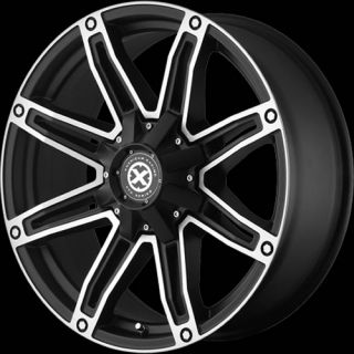 18x8 5 Black Wheel American Racing ATX AX193 Blank