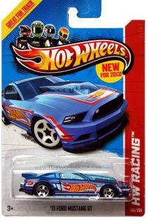 2013 Hot Wheels 106 HW Racing HW Race Team 13 Ford Mustang GT