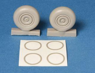 SBS Models 1 48 Dornier do 217 Main Wheels Resin Conversion Kit