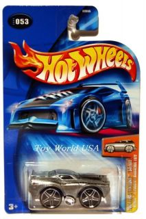 2004 Hot Wheels 53 Blings 72 Plymouth Barracuda Zamac