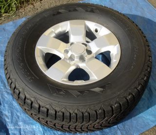 Nissan Frontier Xterra Pathfinder 16 Wheels & Firestone Winterforce