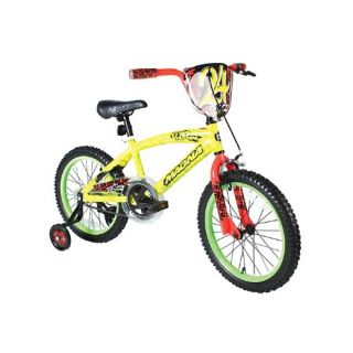 New Dynacraft Boy s Magna Rip Tide Bike Yellow Green 18 Inch