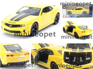 2010 10 Chevrolet Camaro SS RS 1 24 Yellow with Black Wheels