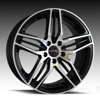 18 Mod Tech 543 Wheels 5x114 3 40 Gloss Black Machined Face